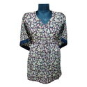 Floral Printed Medium Kaftan