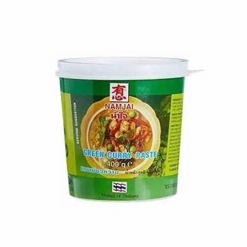 Namjai Green Curry Paste, 400g