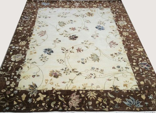 Universal Rugs Rectangular Hand Knotted Rug, For Floor