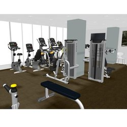 Unisex Gym Interior Fitness Services, Applicable Age Group: 10-50 Years