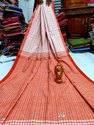 Khadi Cotton Fish Motiff Sarees