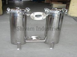 S.S Duplex Bag Filter Housing