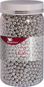 CAKE DECORATING SPRINKLE SILVER BALLS