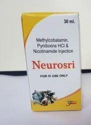 Methylcobalamin, Pyridoxine HCL And Nicotinamide Injection