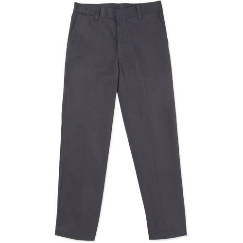 Girls Grey School Uniform Pants