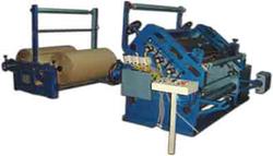 Paper Corrugated Board Making Machine