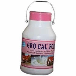 Gro Cal Fort Liver Pet Animal Tonic, Packaging Type: Bottle