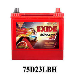 Exide Mileage, MRED75D23LBH ( 68 AH)