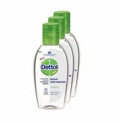 Dettol Original Instant Hand Sanitizer, Alcohol Content: 71 - 80, 50 ML