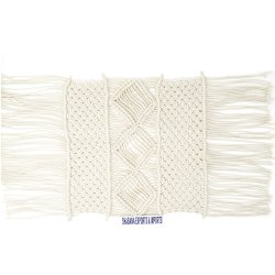 100% Macrame Designer Table Placemat