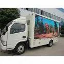P6 Outdoor Mobile Truck Digital LED Advertising Van