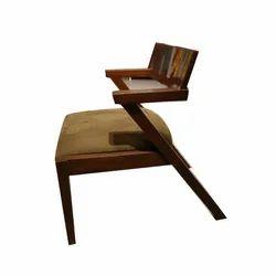 Brown Wooden Garden Coffee Chair, Finish: Matte