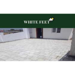 Clay Weather Proof Tile White Feet