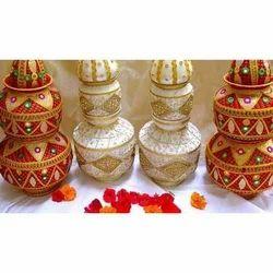 Copper Wedding Kalash
