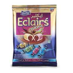 DERBY 12 Months Eclairs Crunchy Toffee, Packaging Type: Packet, Packaging: Poly Bag
