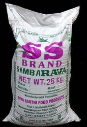 Samba Rava SS Brand 25 Kg Bag