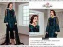 Ramsha Chiffon Ladies Designer Suit, Dry Clean