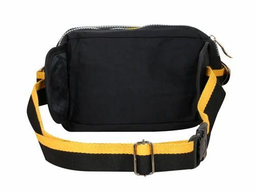 0b60c2920dac Plain Nylon Waist Pouch Belt