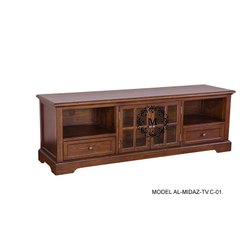 Al Midaz.Co.Woodcrafts Pure Shesham Wooden Tv Cabinets-Al-Midaz-Tv.C-01-02-03-04-05.