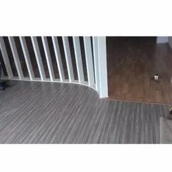 Action Tesa Brown Wooden Flooring Installation Services, Thickness: 8 mm