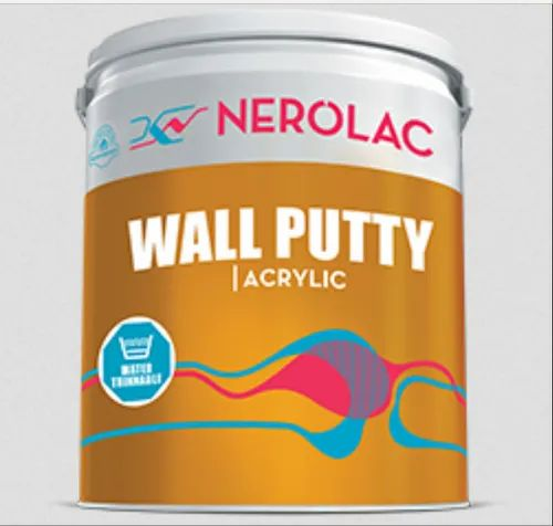 Nerolac Wall Putty Acrylic, Packaging Type: Bucket