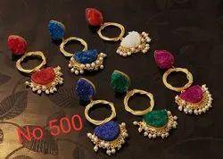 Duzhi Stone Earring