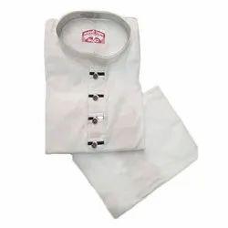 Plain Mens Lining Fancy Netaji Kurta Pajama, Size: 38-44