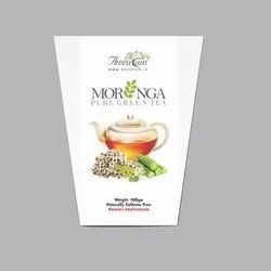 Amratam Moringa Natural Organic Green Tea, Packaging Size: 100 G