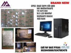 Dual Core 4th Gen Acer Veriton M200 Desktop, Screen Size: 18.5 inch, Windows