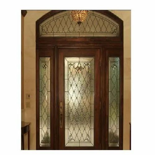 Decorative Door Glass for Home, Thickness: 5-10 mm