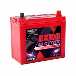 Exide FMT0-MTRED75D23L/R Automotive Battery, 12V, Capacity: 68AH
