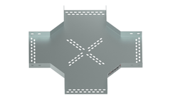 Cross (Fourway) For Perforated Cable Tray (Radius Type)