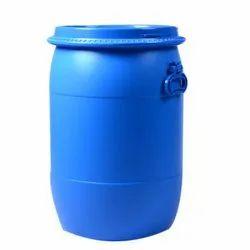 Blue HDPE 100 Liter Plastic Open Top Drums