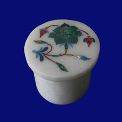 Marble Jewelry Ring Box