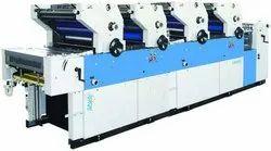 Mild Steel Single Color Offset Printing Machine