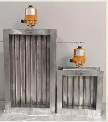 Cair Electrical Actuator Operated Multi Louver Damper