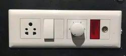 Honeywell Modular Switches, Switch Size: 1 Module, 6