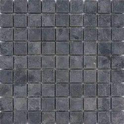 Capstona  Stone Mosaics Black Labrador Tiles