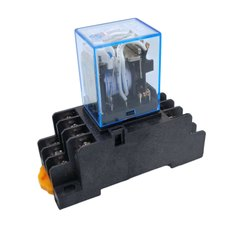 5A Relay With Base For Automatic Touchless Hand Sanitizer Machine Dispenser AC Immunised Relay