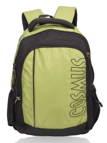 8144745929e5 Cosmus Black   Parrot Green School Bags-Neptune Casual College Backpack
