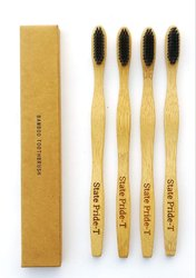Natural BAMBOO TOOTHBRUSH, For Personal Hygiene