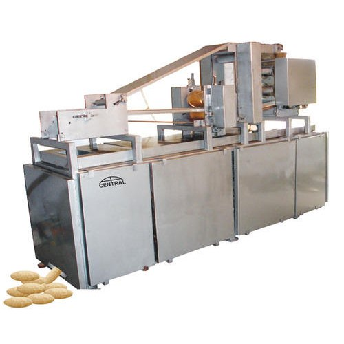 Stainless Steel Central Automatic Chapati Making Machine