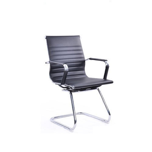 Black Simple Office Visitor Sleek Chair, Rs 2200 /piece ...