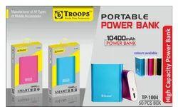 Troops Tp-1004 10400mah Power Bank Metal