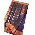 Ladies Party Wear Tissue Katan Silk Saree