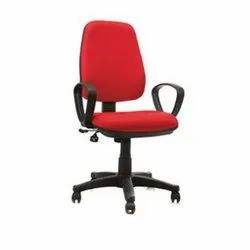 Red Office Revolving Chair