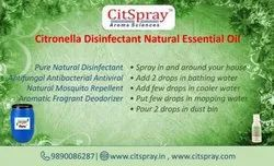 Citronella disanifactant oil