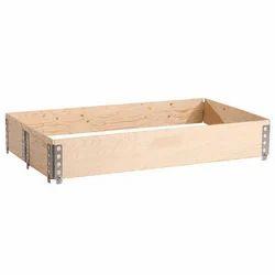 Pine Wood Collar Box
