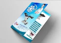 Multicolor Paper Tri Fold Brochure Printing Services, Location: Pan India, Size: A4