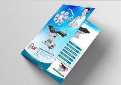 Multicolor Paper Tri Fold Brochure Printing Service, Location: Pan India, Size: A4